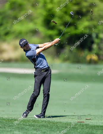 Stock Photo of Camilo Villegas in action during the Houston Open at the Golf Club of Houston in Humble, Texas