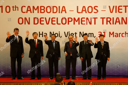 Editorial photo of The sixth Greater Mekong Sub-Region Summit (GMS-6) in Hanoi, Viet Nam - 31 Mar 2018