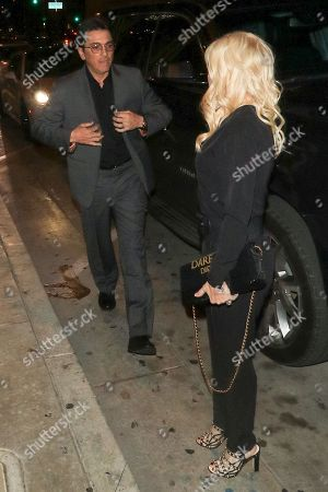 Editorial photo of Celebrities at Catch Restaurant, Los Angeles, USA - 30 Mar 2018