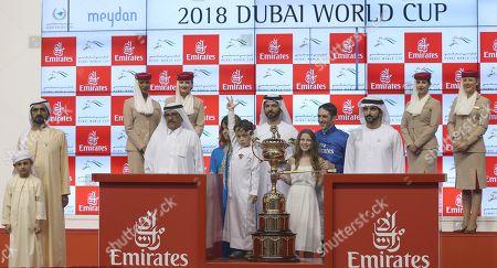 Editorial picture of Dubai World Cup 2018, United Arab Emirates - 31 Mar 2018