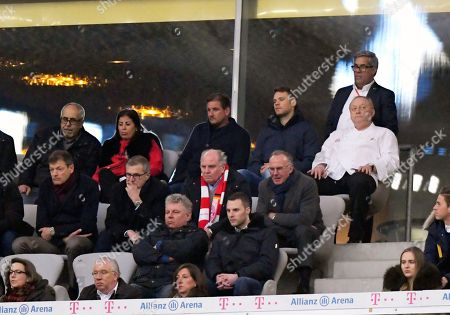 Uli Hoeness (FC Bayern), Karl-Heinz Rummenigge (FC Bayern Munich), Manuel Neuer, Alfons Schuhbeck