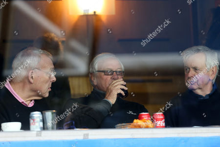 Ron Atkinson in a hospitality box
