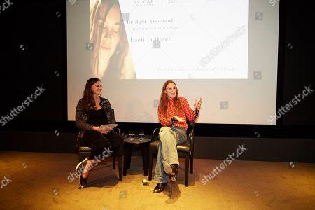 Laetitia Dosch and Bridget Arsenault