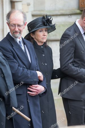 Jane Hawking and her current husband Jonathan Jones