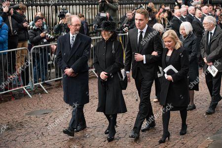 Editorial picture of Funeral of Professor Stephen Hawking, Cambridge, UK - 31 Mar 2018