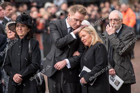 Jane Hawking, Timothy Hawking and Lucy Hawking