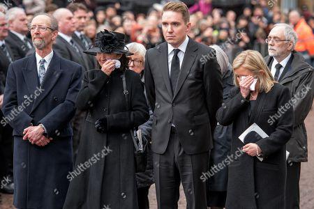 Editorial image of Funeral of Professor Stephen Hawking, Cambridge, UK - 31 Mar 2018
