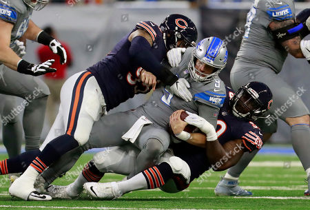 Editorial picture of Bears Lions Football, Detroit, USA - 16 Dec 2017