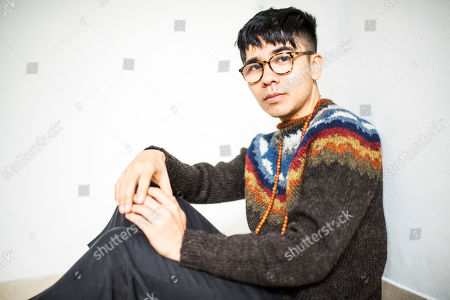 Editorial photo of Ocean Vuong photo shoot, UK - 16 Jan 2018