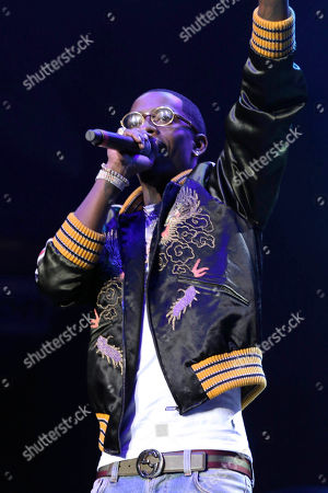 Editorial image of V-103 Live Pop Up Concert - , Atlanta, USA - 31 Mar 2018