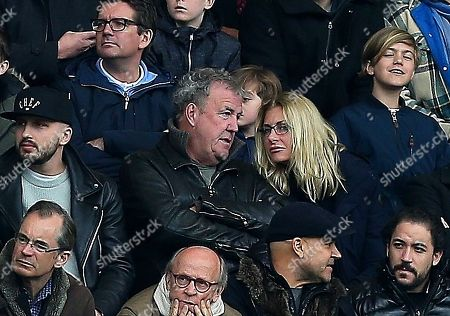 Jeremy Clarkson with his girlfriend  Lisa Hogan