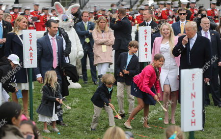 Editorial image of Trump Easter Egg Roll, Washington, USA - 02 Apr 2018