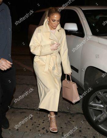 Jennifer Lopez outside Craig's