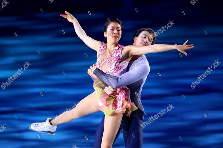 Editorial picture of Stars on Ice, Osaka, Japan - 31 Mar 2018