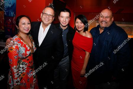 Anne Yatco, Jon Lawrence Rivera, Reggie Lee, Myra Cris Ocenar and Boni B. Alvarez