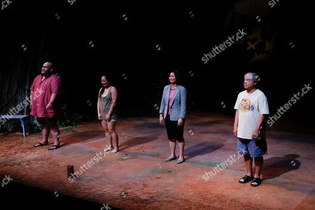 Boni B. Alvarez, Anne Yatco, Myra Cris Ocenar and Alberto Isaac