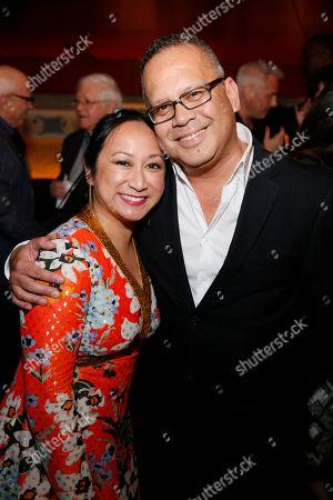 Anne Yatco and Jon Lawrence Rivera