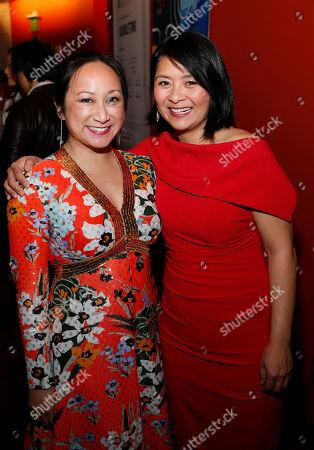 Anne Yatco and Myra Cris Ocenar
