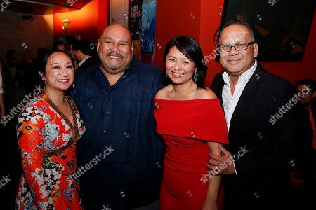 Anne Yatco, Boni B. Alvarez, Myra Cris Ocenar and Jon Lawrence Rivera