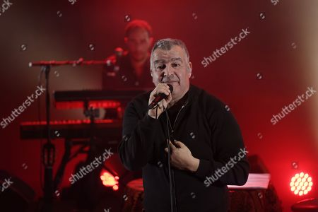Editorial image of Magyd Cherfi in concert at Theatre de Fresnes, France - 31 Mar 2018