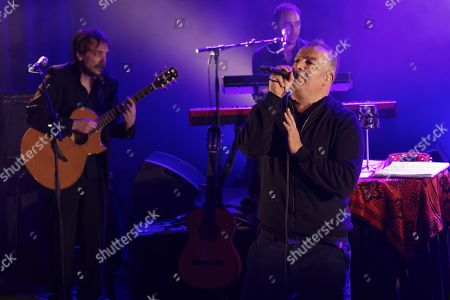 Editorial photo of Magyd Cherfi in concert at Theatre de Fresnes, France - 31 Mar 2018