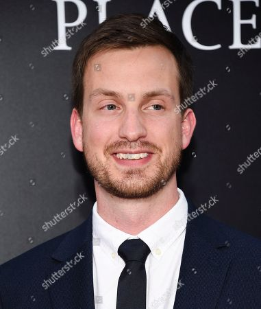 """Executive producer and writer Scott Beck attend the premiere of """"A Quiet Place"""" at AMC Loews Lincoln Square, in New York"""