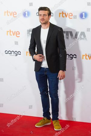 Editorial picture of 'Fugitiva' TV show premiere, Madrid, Spain - 02 Apr 2018