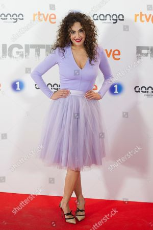 Editorial photo of 'Fugitiva' TV show premiere, Madrid, Spain - 02 Apr 2018