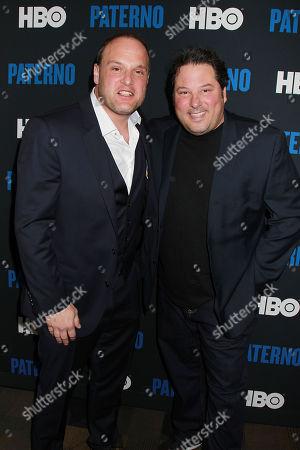 Larry Mitchell and Greg Grunberg