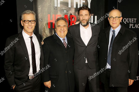Brad Fuller (Producer), Jim Gianopulos (Chairman, CEO Paramount Pictures), Andrew Form (Producer), David Sameth (Pres. Worldwide Marketing Paramount Pictures)