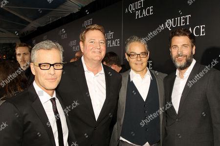 Brad Fuller (Producer), Randy Spendlove (Pres. Worldwide Music & Publishing Paramount), Marco Beltrami (Composer), Andrew Form (Producer)