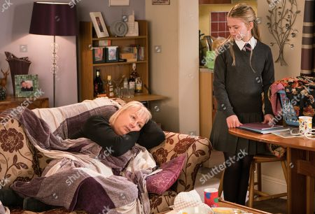 Ep 9431 Monday 16th April 2018 - 1st Ep Summer Spellman, as played by Matilda Freeman, is worried about Eileen Grimshaw, as played by Sue Cleaver, who is still very depressed and not really leaving the house.