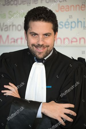 Editorial image of Patrick Klugman, lawyer, Paris, France - 02 Apr 2018