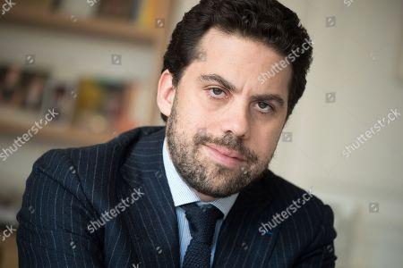 Editorial photo of Patrick Klugman, lawyer, Paris, France - 02 Apr 2018