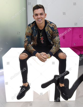 Sam Gowland at MTV Headquarters
