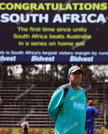 Editorial image of Australia Cricket, Johannesburg, South Africa - 03 Apr 2018