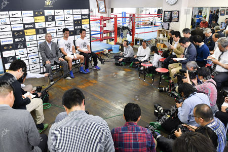 Editorial picture of Ryota Murata attends press conference and training session, Tokyo, Japan - 02 Apr 2018
