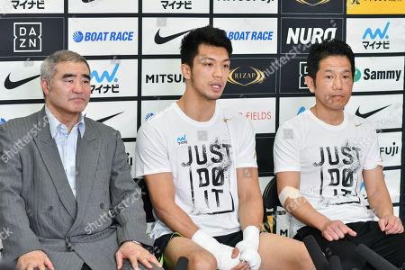 Stock Photo of Tsuyoshi Hamada, Ryota Murata, Sendai Tanaka