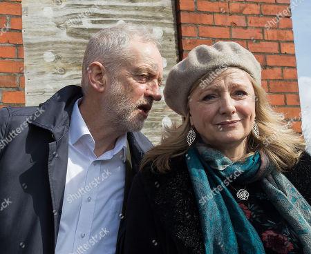 Jeremy Corbyn and Tracy Brabin