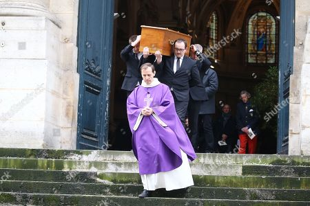 Coffin of Stephane Audran