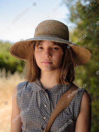 Stock Image of Olivia Lebedeva-Alexopoulou as Galini.