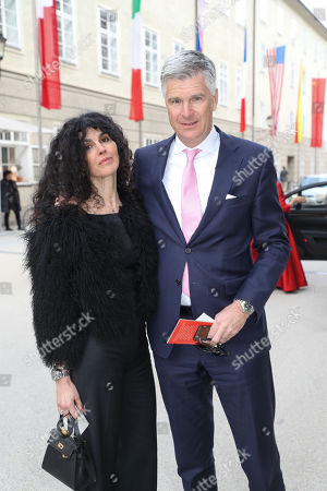 Janine White and Andreas Rüter
