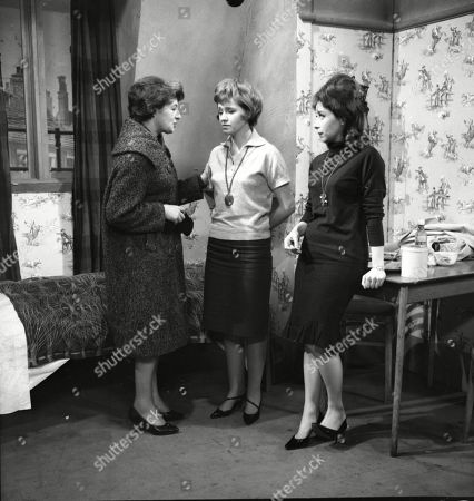 Stock Photo of Sheila Raynor (as Mrs Birtles), Eileen Mayers (as Sheila Birtles) and Angela Crow (as Doreen Lostock)