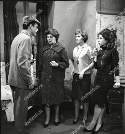 """Editorial picture of """"Coronation Street"""" TV Series  - 1962"""