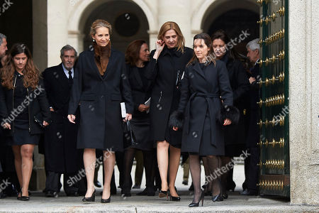 Princess Elena, Princess Cristina, Alexia of Greece