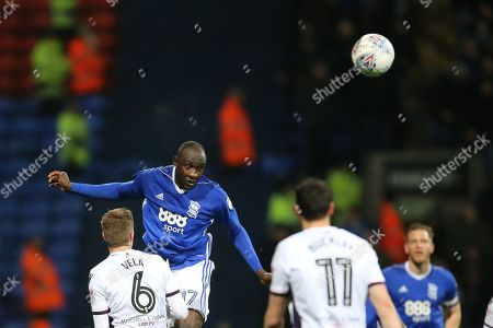 17 Cheikh Ndoye for Birmingham City during the EFL Sky Bet Championship match between Bolton Wanderers and Birmingham City at the Macron Stadium, Bolton. Picture by Graham Holt