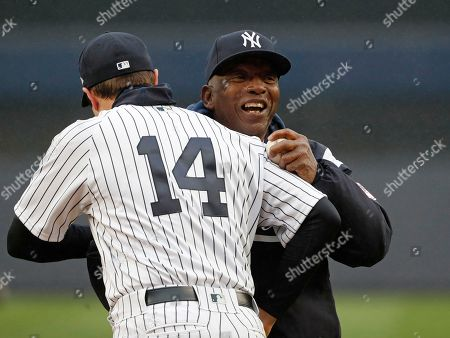 Editorial photo of Rays Yankees Baseball, New York, USA - 03 Apr 2018