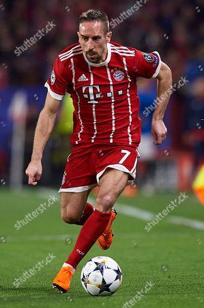Frank Ribery of Bayern Munich.