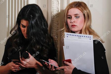 Caroline Sunshine and Giovanna Coia