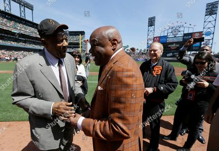 Willie Mays, Willie Brown, Frank Jordan. Hall of Fame Willie Mays, left, is greeted by former San Francisco Mayor Willie Brown before the start of an opening day baseball game between the San Francisco Giants and the Seattle Mariners, in San Francisco. At right is former San Francisco Mayor Frank Jordan